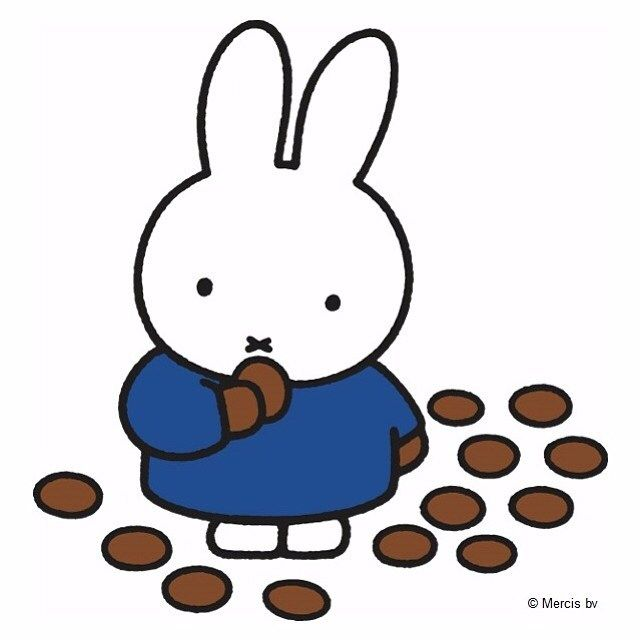 Yum! Miffy loves #ChocolateWeek
