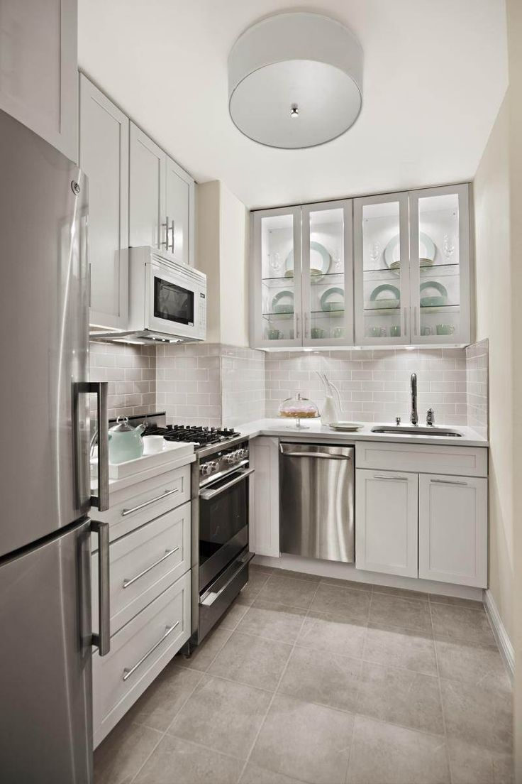 Uncategorized/vintage french kitchen decor/of french country d cor and adds elegant french charm to a kitchen - Love The Frosted Glass On The Cabinet Doors From Apartment Therapy Our 10 Favorite Small Kitchens Home Decor And Interior Decorating Ideas