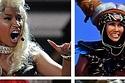 Nicki Minaj Looks Exactly Like Rita Repulsa From Power Rangers
