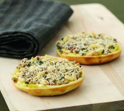 Recept: Crunchy preitaartjes