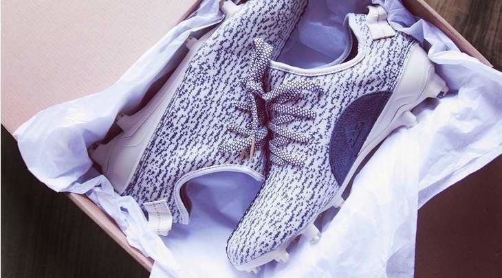 adidas is Lacing Football Players with Custom Yeezy Cleats   Kanye's designs make a splash on the football field.