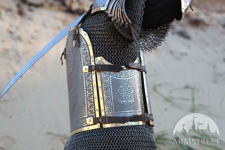 Eastern style cuirass breastplate, backplate for SCA and reenactment