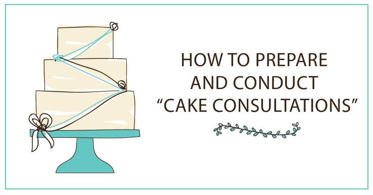 Preparation, Patience and Good Communication are the keys to a successful cake consultation. Follow our guide to conduct a successful cake consultation to make sure you leave a lasting impression and bag that order.