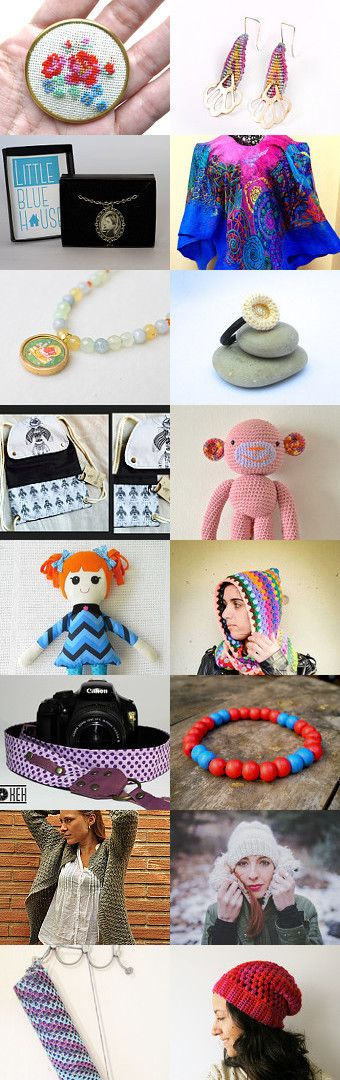 Chilean Handmade with Love! by Carolina Marcías on Etsy