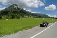 Can Am Spyder F3s & mountains, Slovenia