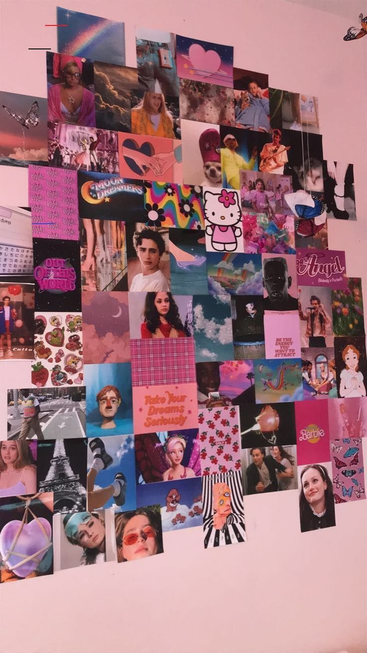 Photo Wall Aesthetic Pictures