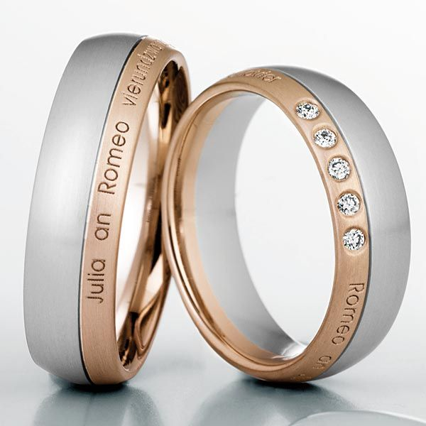 7 besten Trauringe Aussengravur outdoor wedding rings engraving