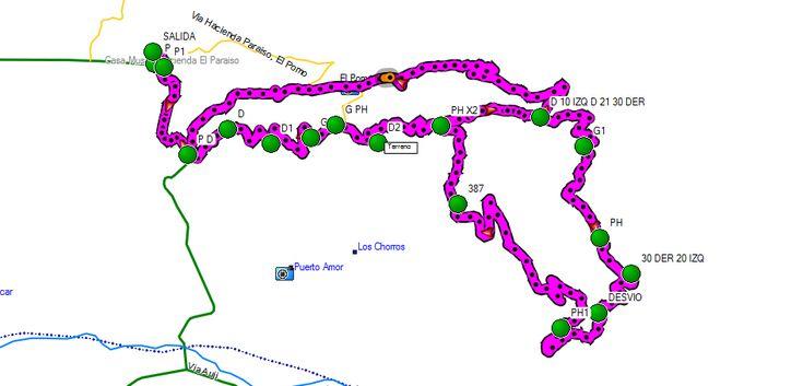 Ruta 20k ECOTRAIL Paraíso