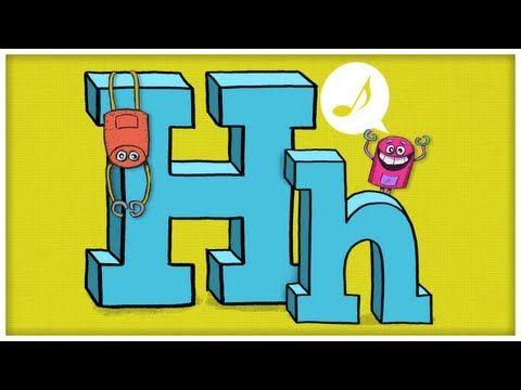 ABC Song: The Letter H  #Education #Kids #Alphabet #Language #ABC