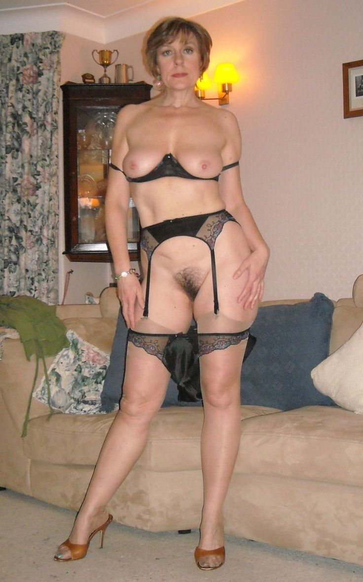 Glamour british mature in stockings doggystyle rammed 7