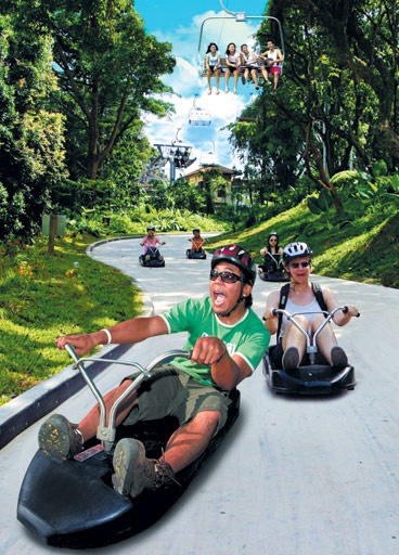 """""""Sentosa Luge and Skyride"""", is a good fun for kids, as well as for adults...    www.sg 