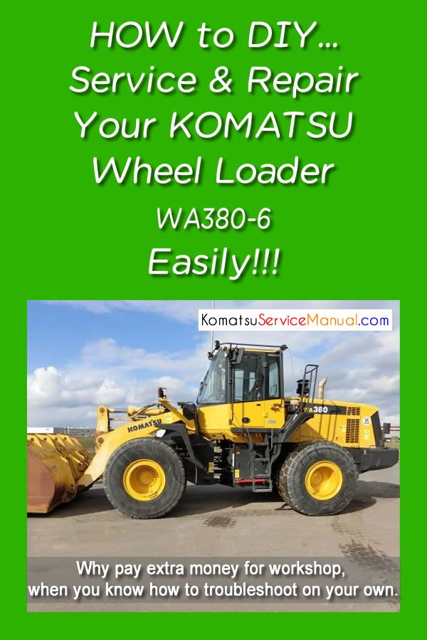 Pin On Komatsu Wheel Loader Manual