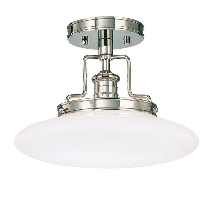 Beacon semi flush hudson valley lighting