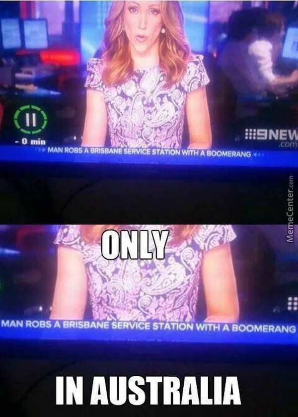 That moment when you recognise the news reporter bc you're Australian lmao