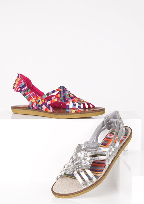 Rocket Dog Splash Flats; let your feet stand out in fun, colorful plaid or