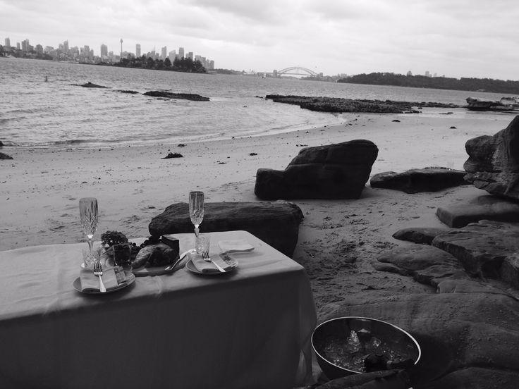 Sydney beach picnic