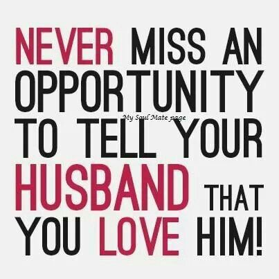 love your husband Quotes Pinterest