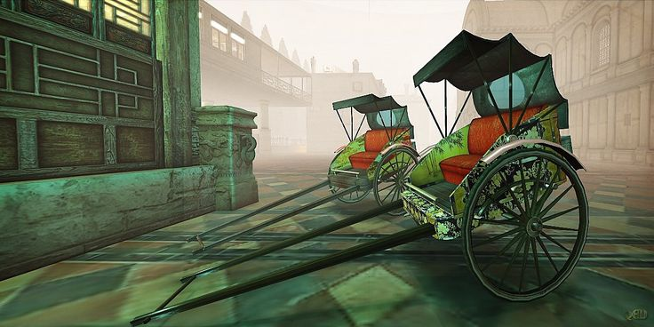 Touring the Steampunk themed Sims of Second life : Hypathia