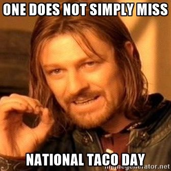 Attention Taco Lovers. Not only is it #TacoTuesday, but it is also #NationalTacoDay. So clear your schedules, and get ready to devour some Taco awesomeness. Beef 'O' Brady's is ce…