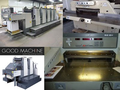 Those on the lookout of a used Komori printing machines dealer in czech may get in touch with Goodmachine