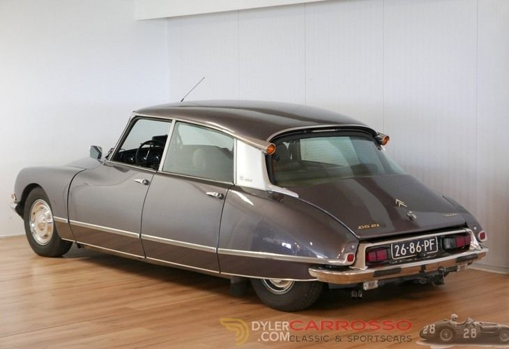 Citroen Ds21 Pallas Sedan Saloon 1970 Brown Pallas Car For Sale 203266 Citroen Ds Citroen Ds21 Citroen