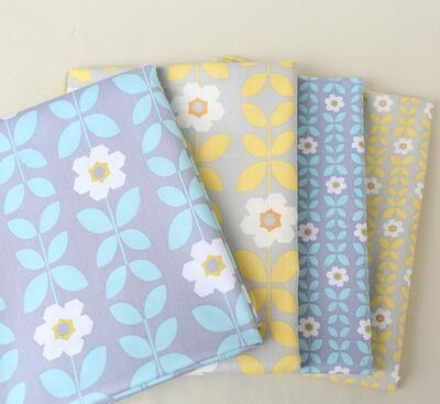 Новый 100% хлопок лоскутное для шитья шторы кроватях мешок подушки ткани ткань одеяла tecidos ручной поделки ткань m01 купить на AliExpress