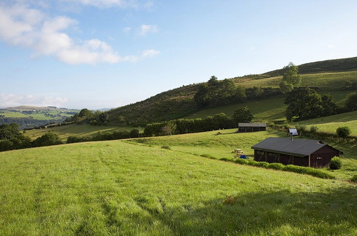 All the tents are situated on working farms in beautiful surroundings