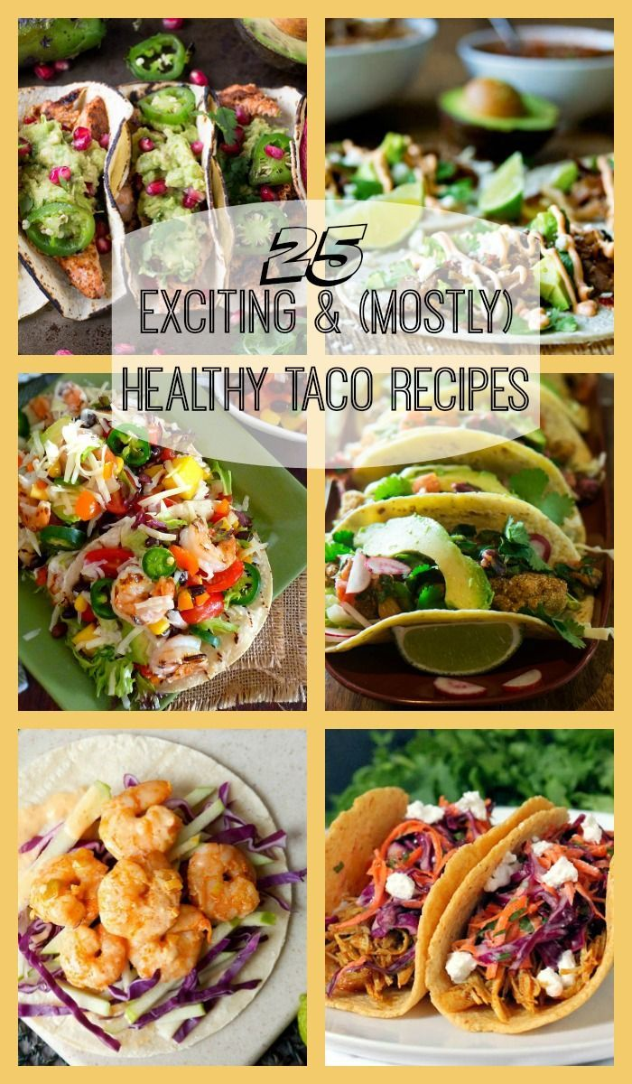An exciting collection of healthy taco recipes with a global flair - Indian, Asian, Caribbean, Cajun influences - and a variety of proteins... All full of flavor!