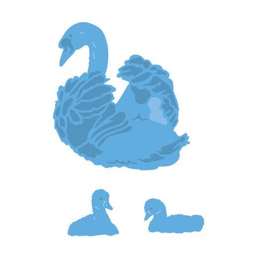 Marianne Design Creatables Cutting Dies - Swans LR0408