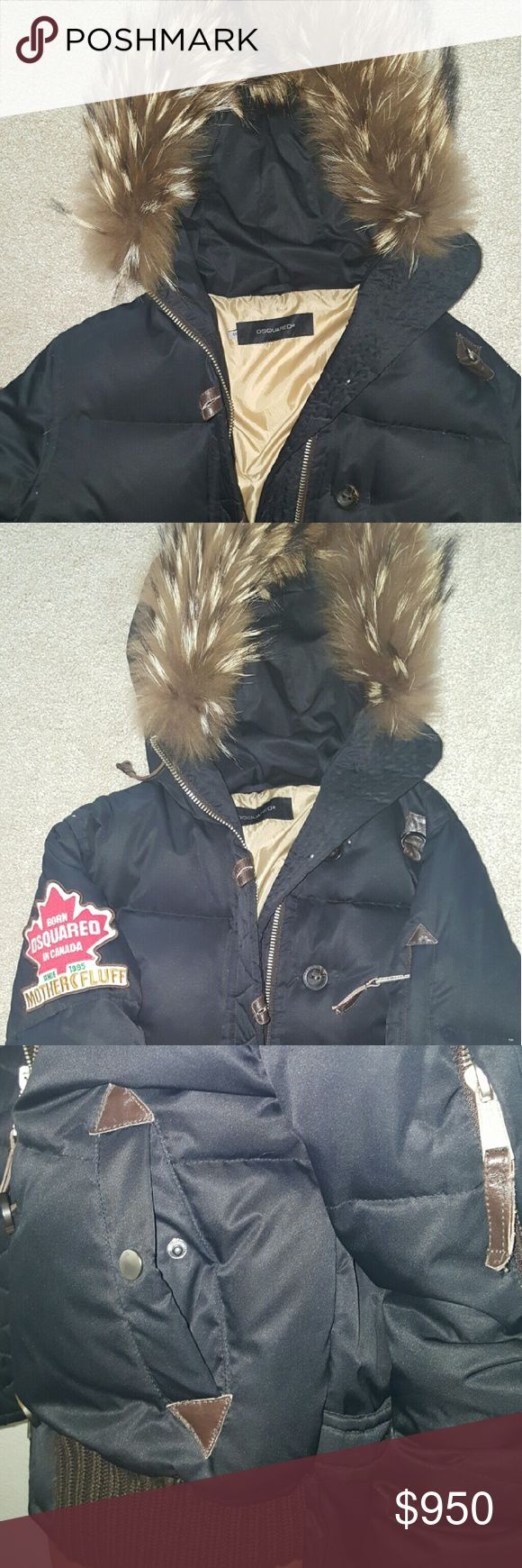Dsquared  puffer down jacket Awesome winter Dsquared parker!! Worn only once for a trip and have no use for them. Live in warm climate all yr long, taking offers as well, kept in excellent climate control condition. Dsquared  Jackets & Coats Puffers