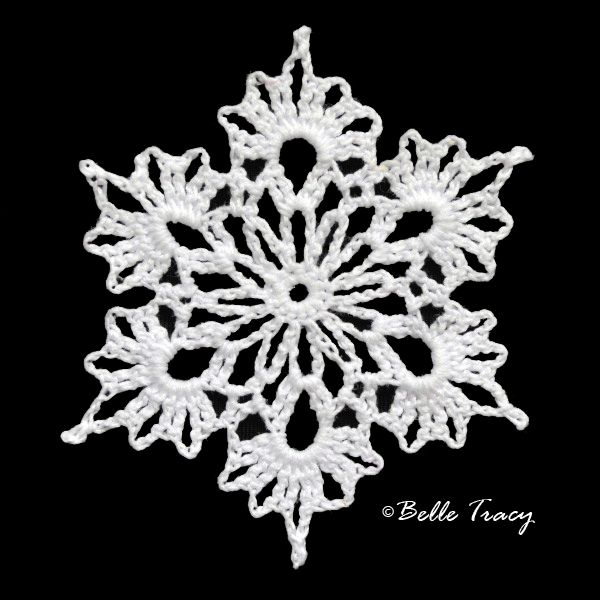 100 Free Crochet Snowflakes @ crochetreasures                                                                                                                                                     More