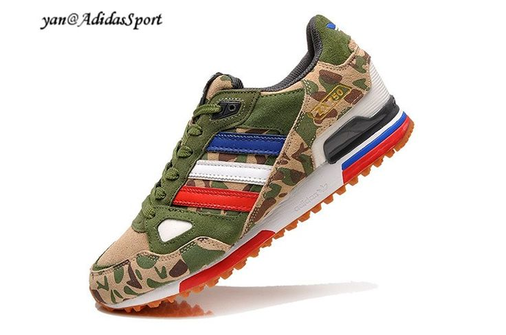 ... real adidas originals zx 750 limited edition 2014 mens camouflage army  green running shoes hot sale 1c89de1be92