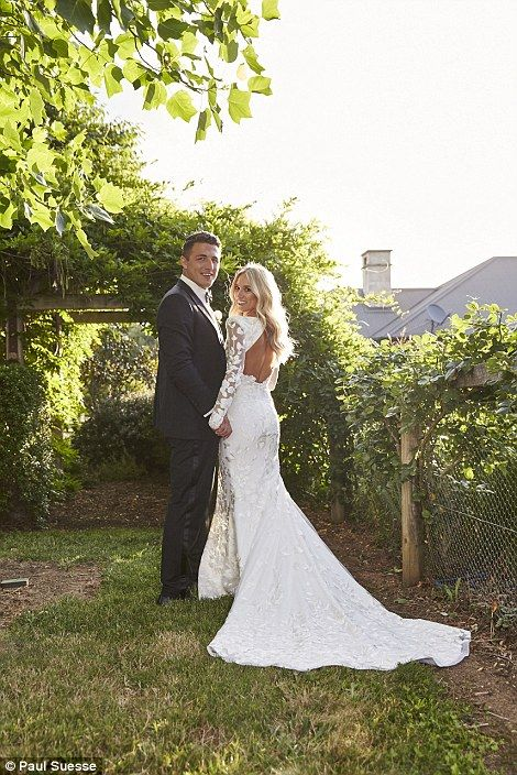Inside Sam Burgess and Phoebe Hooke's wedding at her parents' country estate | Daily Mail Online