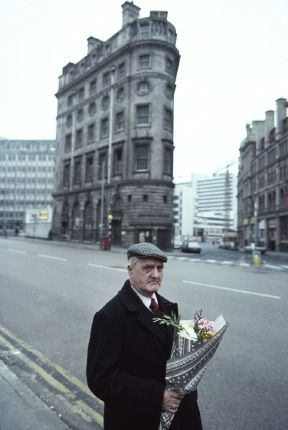 Possibly old man - flat cap/coat combo. John Bulmer - Manchester