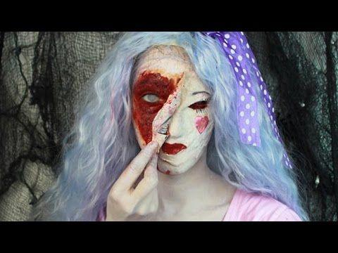 Tutorial Creepy Doll Halloween - VideoTrucco