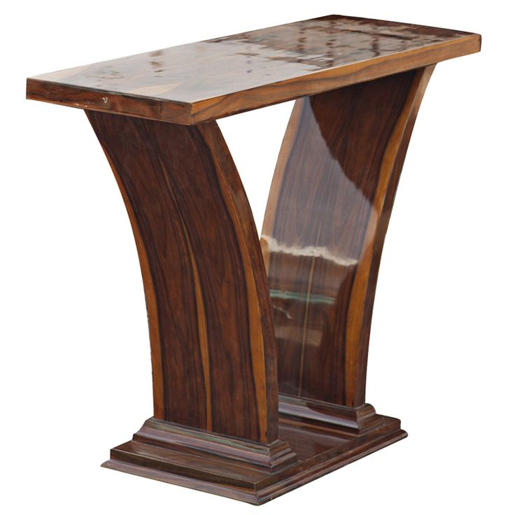 Art Deco Style Rosewood Console Table
