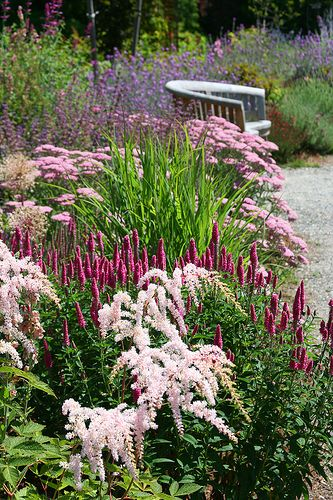Pink in the garden Shared by www.nwquiltingexpo.com @nwquiltingexpo #nwqe #garden