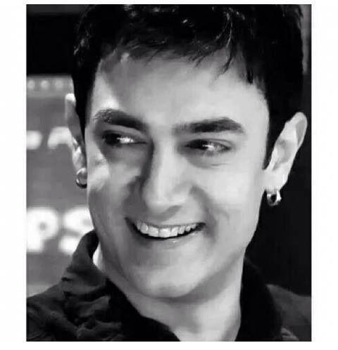 Sweet smile & Aamir Khan