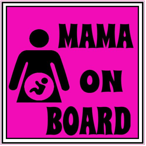 Get this Mama On Board Pregnancy Sticker online at the U.S. Custom Stickers Decal Store. Shop for high quality stickers at cheap prices. Buy here.
