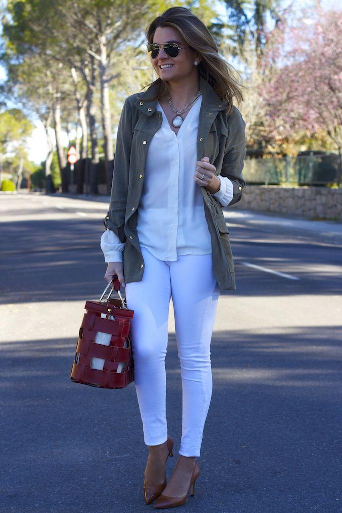 Chaqueta y bolso Zara 1
