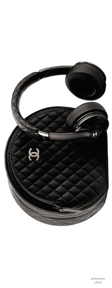 Chanel X Monster Headphones. Fit for a modern queen. www.kristoffjewelers.com