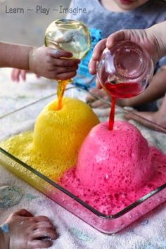 Awesome science experiment and color mixing activity for kids.
