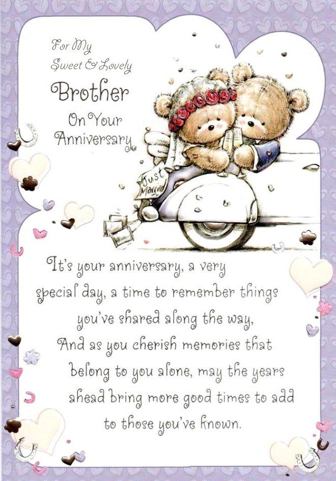 Wedding Gift Ideas For Elder Brother : ... Greeting & Wishes Cards & Messages For Elder & Younger #Brother