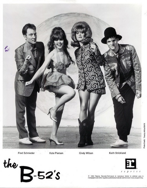 The B-52's....my very first concert @ 13 yrs old. my mother took me and my sister :)