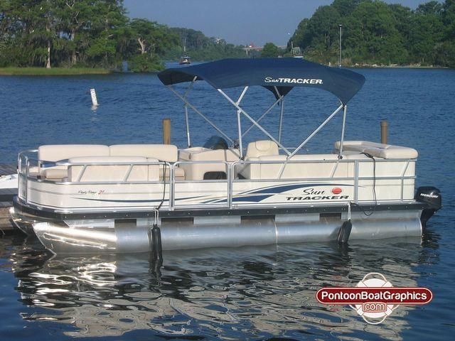 Best Striping Pontoon Boat Striping Images On Pinterest - Custom pontoon decals