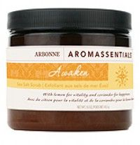 My favorate Arbonne product is the Awaken Sea Salt Scrub. Smells heavenly and gives one soft, glowing, healthy skin,