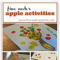 FREE Preschool Apple Theme and Apples, Apples, and more Apples! - Blessed Beyond A Doubt