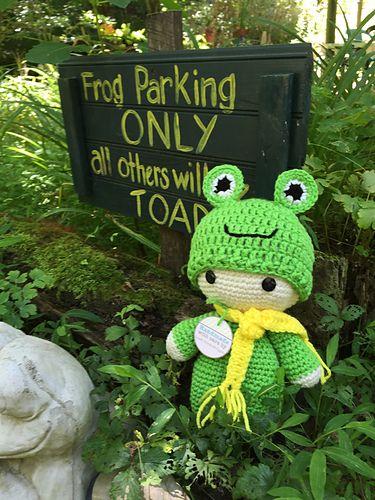 Ravelry: sandyeggers02's Froggy Big Head baby Doll