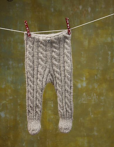 Ravelry: AnuPink's Karupüksid. Cabled baby tights hand knit with love.