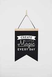 Felt Flag - Create a Little Magic